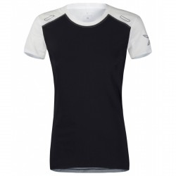 Running t-shirt Montura Run 7 Woman black-white
