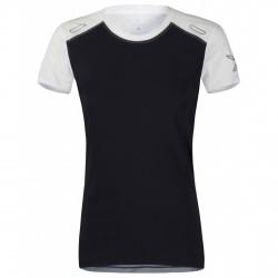 T-shirt running Montura Run 7 Mujer negro-blanco