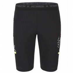 Running short Montura Run 2 Ciclista Man black-yellow