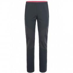 Pantalones trekking Montura Isarco Mujer gris-rosa