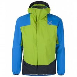 Trekking jacket Montura Color Man green-royal