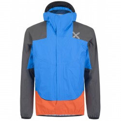 Trekking jacket Montura Color Man royal-orange