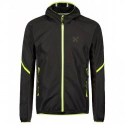 Trekking jacket Montura Revolution Man black-yellow