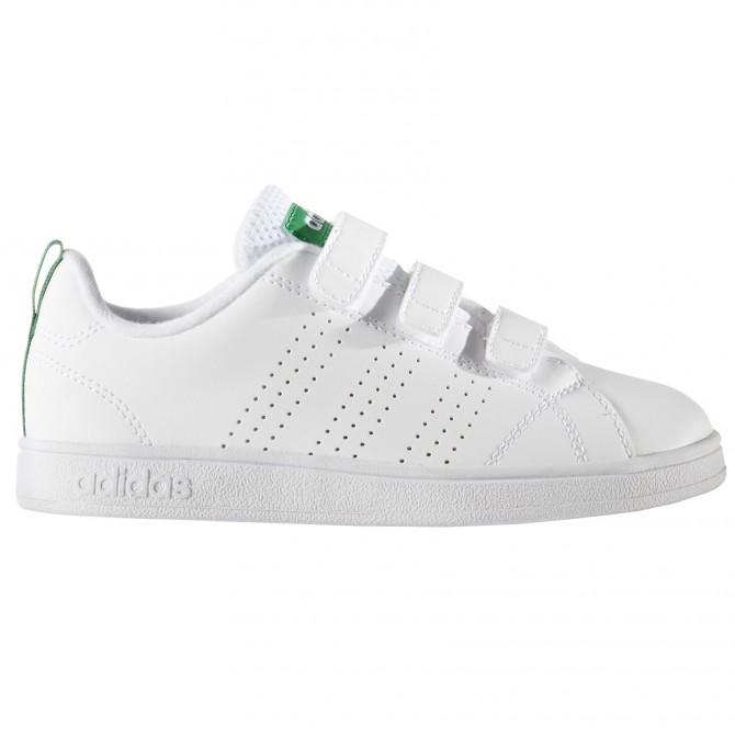 Sneakers Adidas Advantage Clean Niño blanco-verde