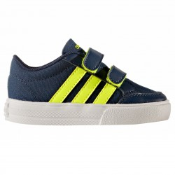 Sneakers Adidas VS Set Cmf Inf Baby blu-giallo