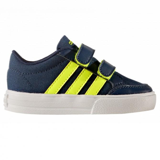 Sneakers Adidas VS Set Cmf Inf Baby blu-giallo ADIDAS Scarpe moda