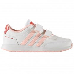 Sneakers Adidas Neo VS Switch 2.0 Bambina bianco-rosa