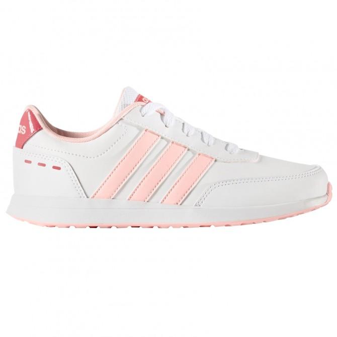 Sneakers Adidas VS Switch 2.0 K Bambina bianco-rosa ADIDAS Scarpe sportive