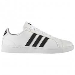 Sneakers Adidas Cloudfoam Advantage Homme blanc-noir