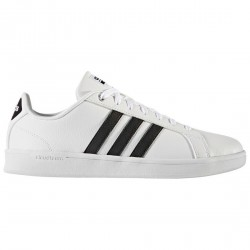 Sneakers Adidas Cloudfoam Advantage bianco-nero