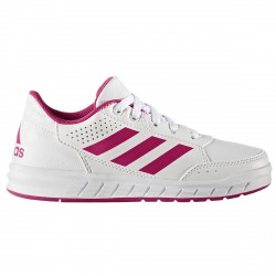 Scarpe ginnastica Adidas Altasport Bambina bianco-rosa