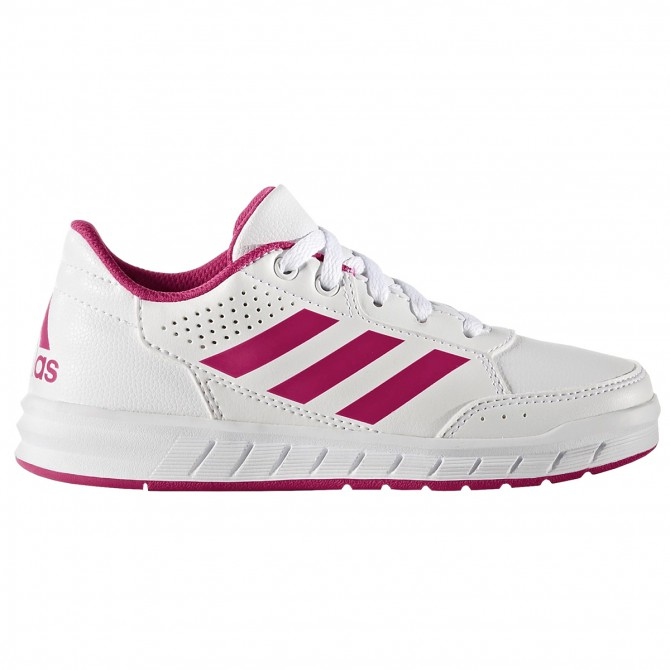 Scarpe ginnastica Adidas Altasport Bambina bianco-rosa ADIDAS Scarpe sportive