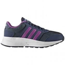 Chaussures de tennis Adidas Cloudfoam Saturn K Fille bleu-violet