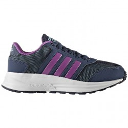 Zapatillas Adidas Cloudfoam Saturn K Niña azul-violeta