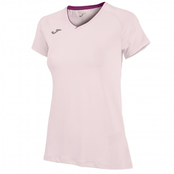 Running t-shirt Joma Woman pink