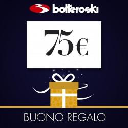 Buono regalo da 75 euro