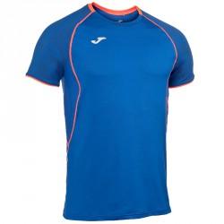 T-shirt running Joma Olimpia Flash Homme royal