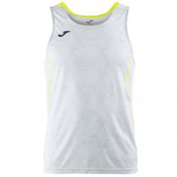 Camiseta running Joma Olimpia Hombre blanco