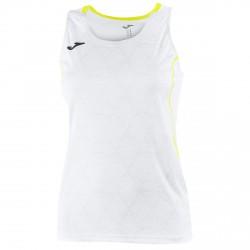 Camiseta running Joma Olimpia Mujer blanco