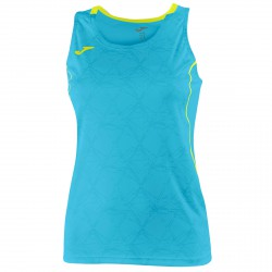 Débardeur running Joma Olimpia Femme turquoise