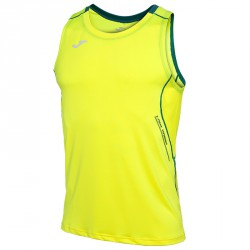 Camiseta running Joma Olimpia Flash Hombre amarillo