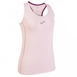 Camiseta running Joma Free Mujer rosa