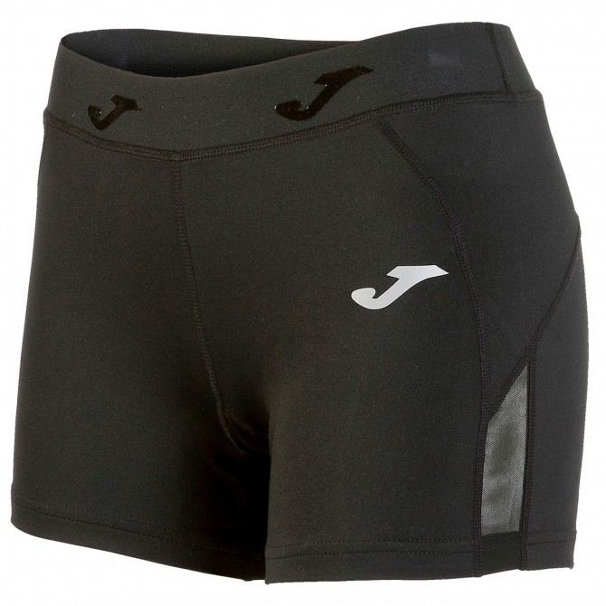 Shorts running Joma Tight Donna nero