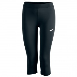 Pantalone 3/4 running Joma Pirate Donna nero