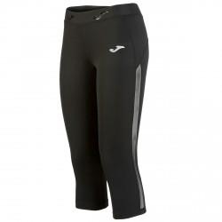 Running 3/4 pants Joma Free Woman black