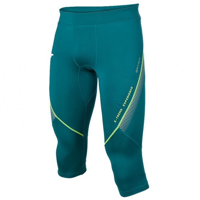 Pantalone 3/4 running Joma Olimpia Flash Uomo verde