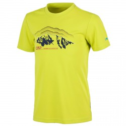 T-shirt trekking Cmp Junior lime