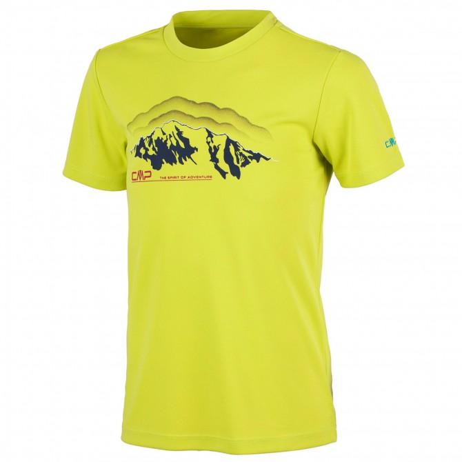 T-shirt trekking Cmp Junior lime CMP Abbigliamento outdoor junior