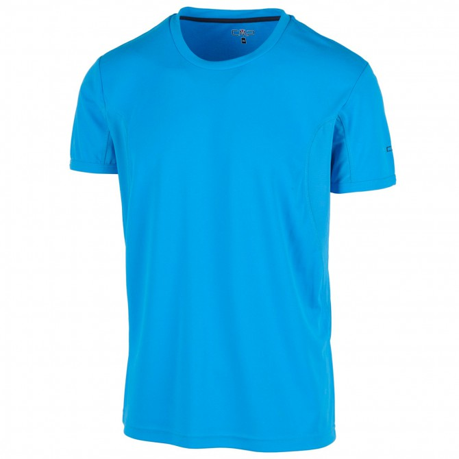 T-shirt trekking Cmp azzurro