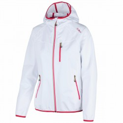 Softshell Cmp Woman white