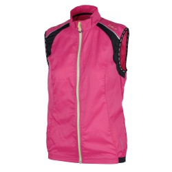 Chaleco trail running Cmp Mujer fucsia