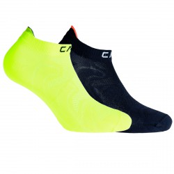 Chaussettes Cmp Ultralight Junior jaune-noir