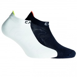 Calcetines Cmp Ultralight Junior negro-blanco