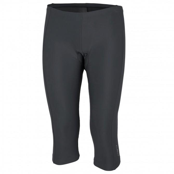 Pantalones 3/4 ciclismo Cmp Mujer negro