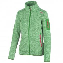 Trekking fleece Cmp Woman green