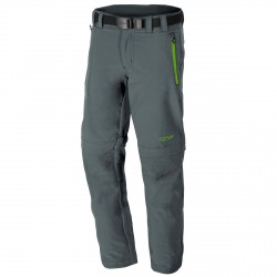 Pantalone trekking Cmp Zip Off Junior grigio