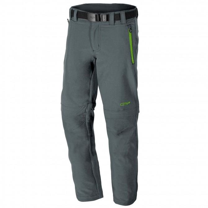Pantalone trekking Cmp Zip Off Junior grigio CMP Abbigliamento outdoor junior
