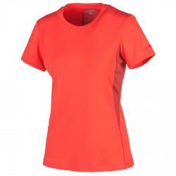 T-shirt trekking Cmp Femme rouge