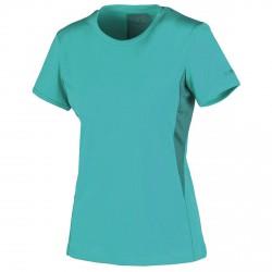 T-shirt trekking Cmp Femme vert eau