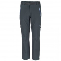 Trekking pants Cmp Zip Off Woman grey