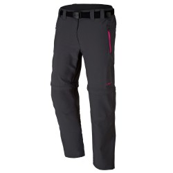 Pantalone trekking Cmp Zip Off Girl antracite