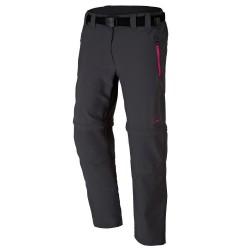 Pantalones trekking Cmp Zip Off Girl antracita