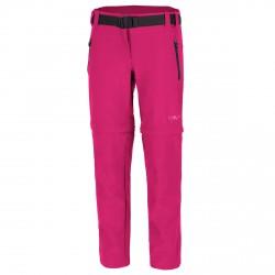 Trekking pants Cmp Zip Off Girl fuchsia