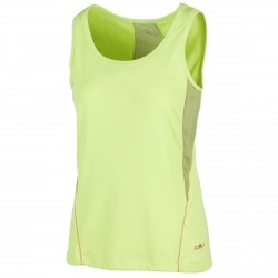 Camiseta trekking Cmp Mujer verde