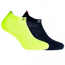 Chaussettes Cmp Ultralight jaune-noir