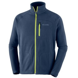 Polaire Columbia Fast Trek II Homme gris-lime